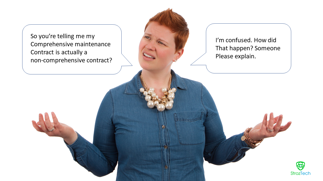 maintenance contract confusion
